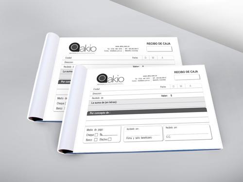 Papeleria empresarial archivos alejasierra publicista for Diseno de facturas